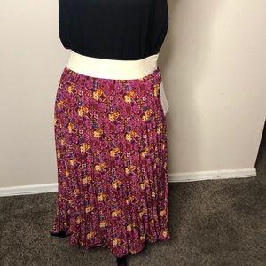 LulaRoe Jill Pleated Skirt